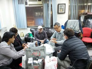Donation of anti-new coronavirus materials to charity through friendly consultation of many countries – 2020