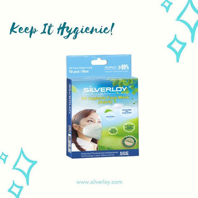 Silverloy antibacterial mask