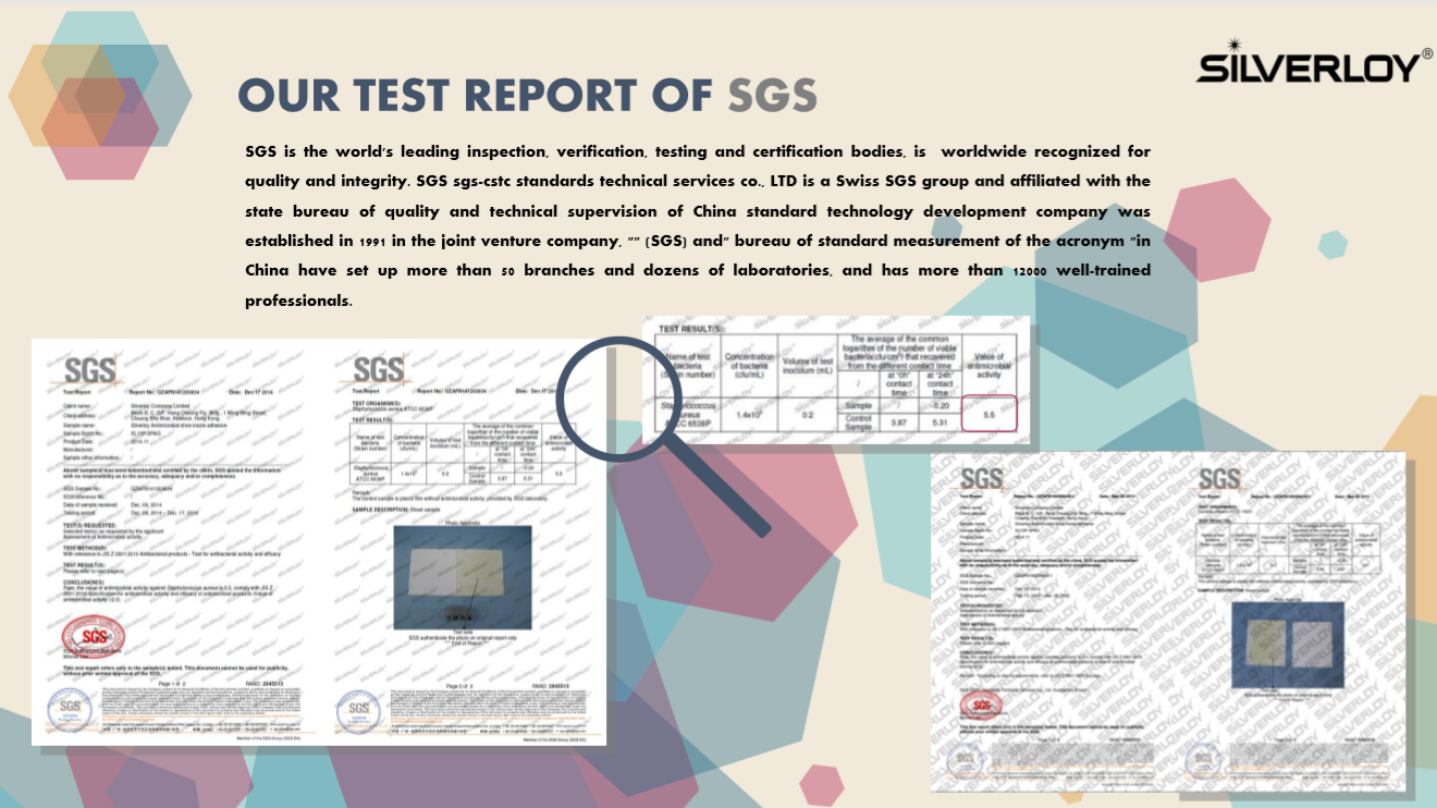 SGS TEST REPORTS